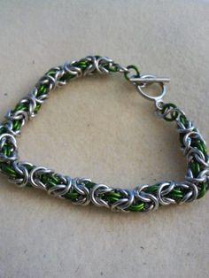 Slytherin Inspired Bracelet