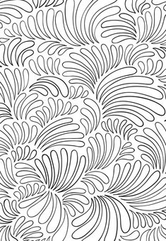 From the Zenscapes Coloring Book ~  Creative Havens, Dover Publications #doodle #pattern
