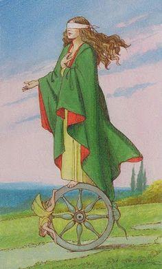 Roda de Tarot: Carta do Dia: Roda da Fortuna
