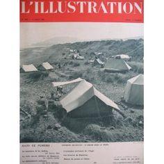 L'Illustration - n°4980 - 13/08/1938 - Vacances nouvelles : le congé sous la tente en Normandie [magazine mis en vente par Presse-Mémoire]