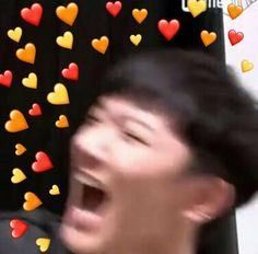 When Whiplash starts playing. Meme Faces, Funny Faces, K Pop, Ten Chittaphon, Heart Meme, I Cant Do This, All About Kpop, Wholesome Memes, Love Memes
