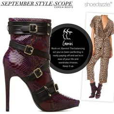Buckle up, #Gemini, and bring out your bold side with this buttery bootie. #horoscope #ShoeDazzle