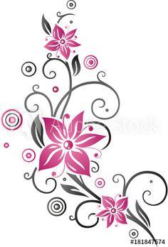 Skull Wallpaper, Flower Wallpaper, Back Of Thigh Tattoo, Floral Thigh Tattoos, Muster Tattoos, Flower Silhouette, House Front Design, Large Flowers, Summer Flowers
