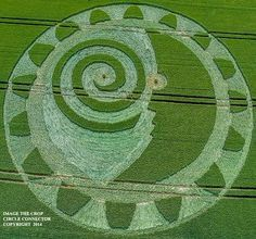 Crop Circle at Hackpen Hill, nr Winterbourne Bassett, Wiltshire. United Kingdom. Reported 8th July.