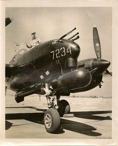 WWII P38 night fighter