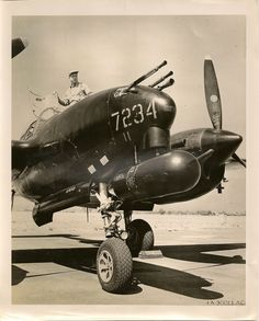 WWII P38 night fighter