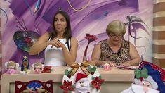Mulher.com - 28/11/2016 - Porta talher e flor de natal em feltro - Silma...
