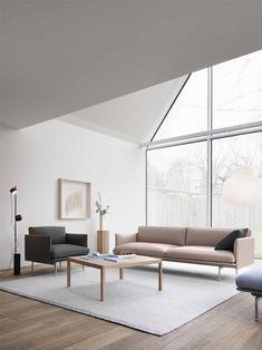 On my radar: new furniture launches – January 2020 - Outline sofa Muuto - white minimalist interior Sofa Design, Mug Design, Design Blog, Design Studio, Lounge Design, Furniture Design, Inspiration Design, Living Room Inspiration, Home Decor Inspiration