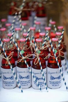 Soda Bottle Displays » Alexan Events | Denver Wedding Planners, Colorado Wedding and Event Planning