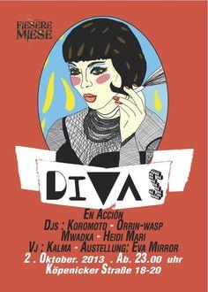 Divas   Fiesere Miese   Berlin   https://beatguide.me/berlin/event/fiesere-miese-di-vas-20131002/poster/