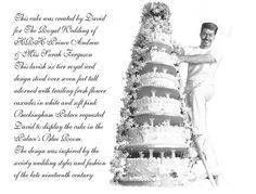 prince andrew and sarah royal wedding | Royal Weddings wedding Cake 1986 1999 HRH Prince Andrew Miss Sarah ...