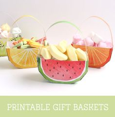 'feeling Fruity' Free Fruit Printables