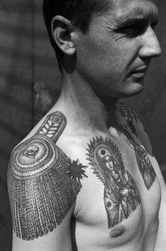 Original Works from the Russian Criminal Tattoo Encyclopaedia - © Sergei Vasiliev. S)