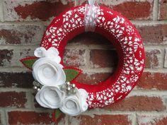 Cute Christmas-y Wreath!