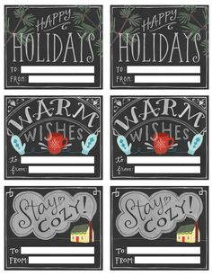 100  Free Holiday Printables