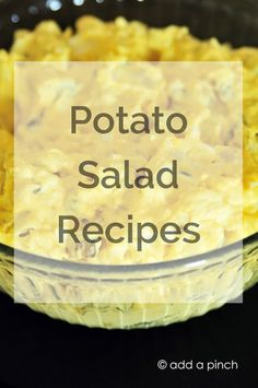 Potato Salad Recipes - Cooking | Add a Pinch
