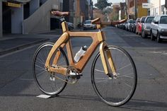 FYX_4237 by fyxomatosis - since forever, via Flickr - want my kid to take advanced wood-shop now! That's one gorgeous bike!