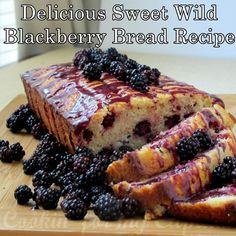 Delicious Sweet Wild Blackberry Bread Recipe Homesteading  - The Homestead Survival .Com