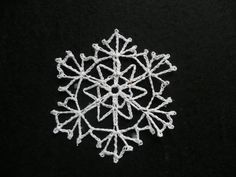 Snowflake #29 - Pattern from 60 Crocheted Snowflakes by Barbara Christopher