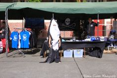 The Hector's Dolphins got support by Sea Shepherd (NZ) at the Southern Farmers Market in Invercargill.  December 2013.
