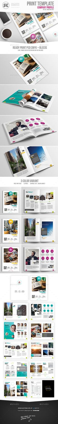 Awesome Indesign Corporate Brochure A  Letter Template  Only