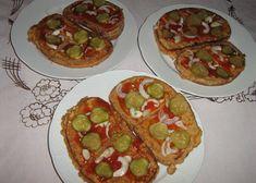 Chleba ve vajíčku recept - TopRecepty.cz Avocado Toast, Vegetable Pizza, Zucchini, Hamburger, Tacos, Vegetables, Breakfast, Ethnic Recipes, Food