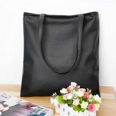 8a202fc05bd2 9.24€ - Brand Black Leisure Lady Handbag Shoulder Bag PU Leather Women Tote  Purse - APG Fashion Life Store