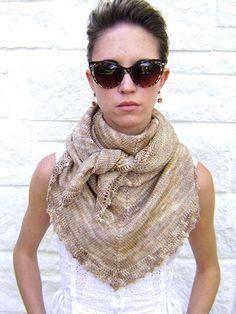 Knitting - Parchment Shawl - #REK0648