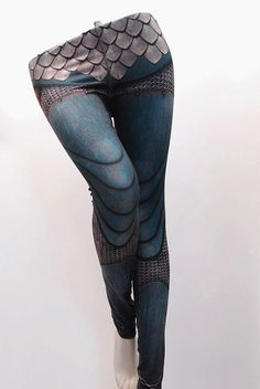These leggings cover you in armor.  Very cool. from etsy shop: https://www.etsy.com/shop/Mitmunk