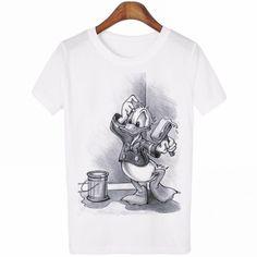 Camiseta para parejas con divertido y romanticos estampados
