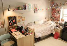 34 Best ideas for apartment decorating college decoration dorm room Dream Rooms, Dream Bedroom, Room Decor Bedroom, Dorm Room, Bedroom Girls, Korean Bedroom Ideas, Aesthetic Room Decor, Room Interior Design, Apartment Interior