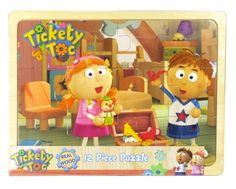 Tickety toc 12 piece puzzle