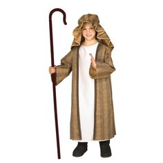 The Shepherd Costume Child is the perfect 2019 Halloween costume for you. Show off your Boys costume and impress your friends with this top quality selection from Costume SuperCenter! Nativity Costumes, Boy Costumes, Adult Costumes, Great Halloween Costumes, Christmas Costumes, Easter Costumes, Costume Ideas, Abraham Lincoln Costume, Shepherd Costume