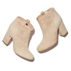 There's a lot to love about Laurence Dacade's suede ankle boots—the heel is just right and the minimalist shape flattering.