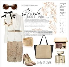 """Nude Laces also by Annette """"Lady of Style"""""""