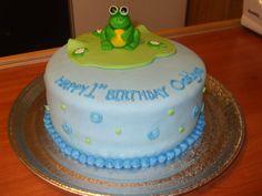 little frog cake