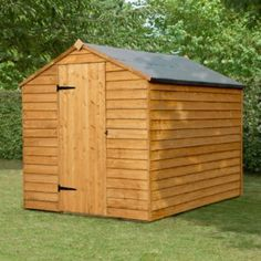 Forest Garden 8X6 Apex Roof Overlap Timber Shed - Assembly Required £219.98 from B&Q