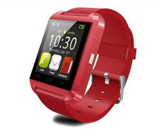 U watch WT60 Universal Bluetooth Watch (Red). Allows you to answer calls with earphones and hands-free. Suitable for Bluetooth 1.0, 2.0, 3.0, 4.1. Comes with pedometer function, stopwatch function and altimeter function. Built-in Runtastic Altimeter PRO, you can measure the altitude anytime good friend for climbing and traveling. Built-in pedometer, it can record your activity data all day, provide full data for your healthy.