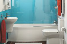 B_DIY_Projects_Bathroom_Planning_Tools - B&Q for all your home and garden supplies and advice on all the latest DIY trends Small Basement Bathroom, Add A Bathroom, Bathroom Plans, Bathroom Plumbing, Bathroom Ideas, Bathroom Designs, Bathroom Remodeling, Modern Bathroom, Bad Inspiration
