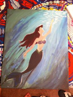 Disney The Little Mermaid Ariel inspired by TheDisneyYouRemember, $55.00