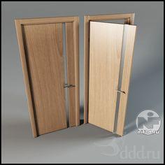 """PROFI"" дверь 3dsMax 2012 + obj (Vray) : Окна и двери : Файлы : 3D модели, уроки, текстуры, 3d max, Vray"