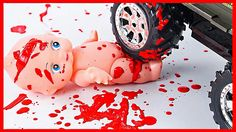 Baby Road Accident DIY First Aid | Toys for Kids
