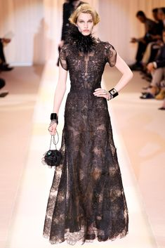 Armani Privé Fall 2013 Couture Fashion Show