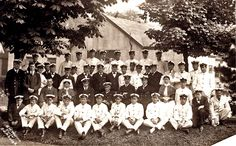 Photograph taken at the Royal Naval Hospital, South Queensferry