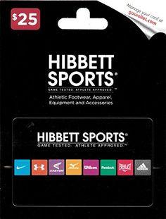 Hibbett Sports $25 Gift Card - http://www.darrenblogs.com/2016/12/hibbett-sports-25-gift-card/