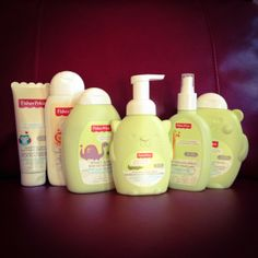 Fisher Price Bath & Body Products Giveaway