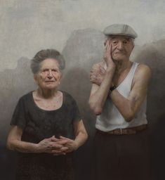 David Jon Kassan - Portraits of Holocaust Survivors: Louise and Lazar Farkas