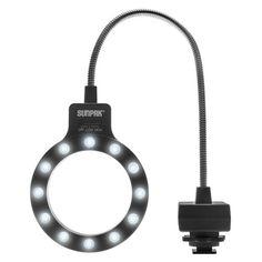 Sunpak LED Macro Ring Light for Digital SLR Cameras & Lenses with or Smaller Underwater Photography, Camera Photography, Photography Tips, Landscape Photography, Camera Rig, Camera Hacks, Camera Lens, Sony A5100, Cinema Camera