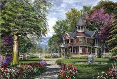 Beautiful 6000 piece Jigsaw puzzle for adults