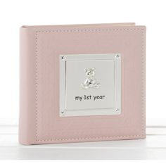 Photo Album My First Year Pink Baby Girl Photo Album Gift 77803